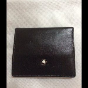 Montblanc Other - MONTBLANC Meisterstuck leather coin case