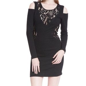 Tracy Reese Dresses & Skirts - NWT Plenty by Tracy Reese Cold Shoulder Lace Shift