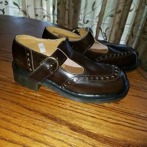 Dr. Martens Other - Dr (doc) Martens Brown Leather Mary Janes sz 4