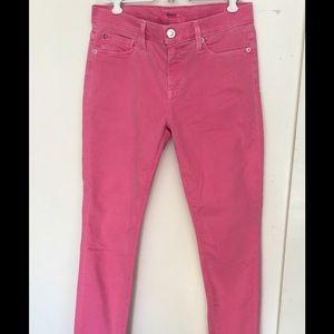 Hudson Jeans Denim - Hudson Light Pink Stretch Jeans Size 27 🌝