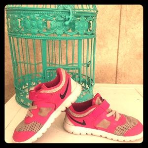 Nike Other - Nike pink shoes for little girls