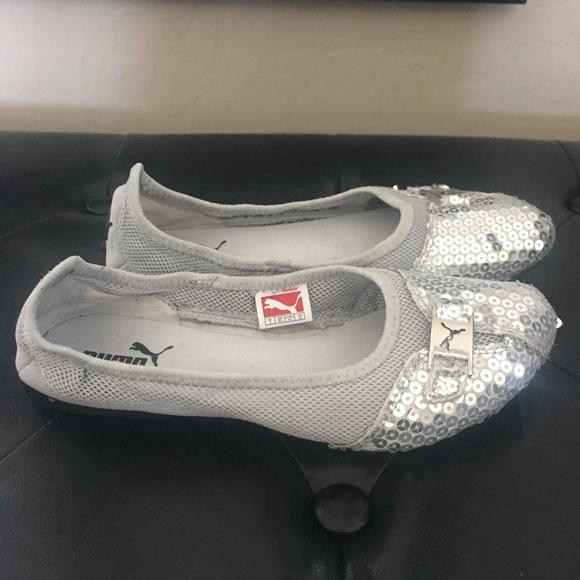 3620cb304c2 PUMA Sabadella Sequin Ballet Flat. M 58d6e8189c6fcf4fd5083551