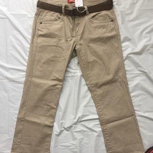 UNIONBAY Pants - Unionbay Wilder Crop Capri Pant (Juniors) NWT