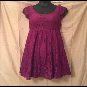 Cotton On Dresses & Skirts - NWOT Cotton On Purple Lace Dress