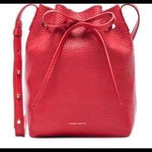 Mansur Gavriel Handbags - Tumble Mini Mansur Gavriel Bucket Bag
