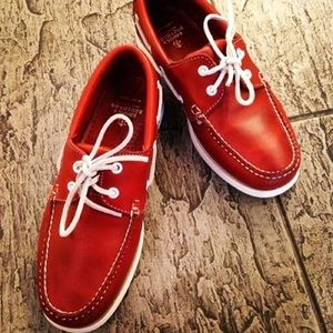 Brooks Brothers Other - Brooks Brothers Red Leather Boat Shoes