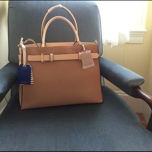 Reed Krakoff Handbags - NWT REED for Kohls Large Camel Satchel