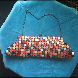 Aldo Handbags - Button embellished clutch