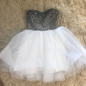 Tutu Homecoming Dress