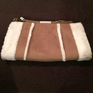 Vaneli Handbags - 🆕 VanEli Faux suede with fur purse.