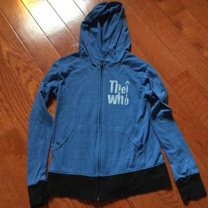 "Rowdy Sprout Other - Rowdy Sprout kids ""The Who"" hoodie"