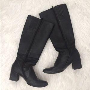 Classique Shoes - Tall Black Boots