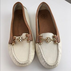 Tory Burch Shoes - Tory Burch Kendrick Leather driving loafers
