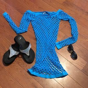 anabel Other - Aqua Blue Swimwear cover up 👙🕶