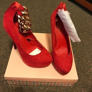 Child of Wild Shoes - Red heels