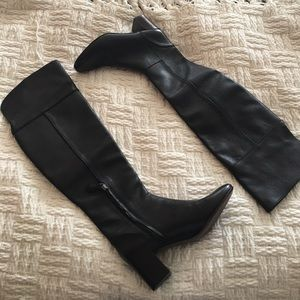 Tory Burch Black Over-the-knee Sample Boots