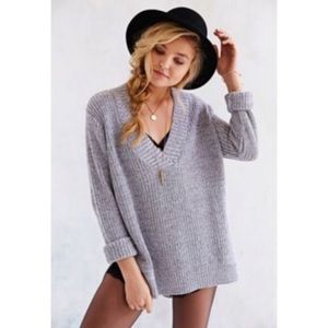 Urban Outfitters Oversized Gray Sweater