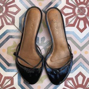Unisa Shoes - UNISA KITTEN HEEL SLIDES sandals shoes .  SIZE 8