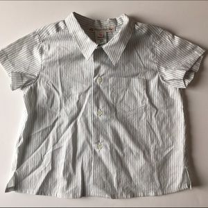 Bonpoint Other - Bonpoint Short Sleeve Button Down Shirt