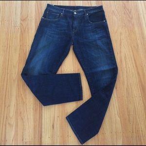 Truenyc. Denim - TrueNYC Stella Dark Wash Jeans