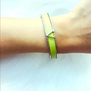 Vince Camuto Jewelry - Vince Camuto Lime Green Bangle