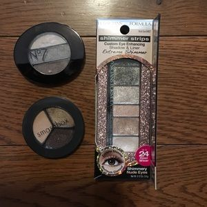Other - Make up- 3 sets of Nude Eye Shadows 👁