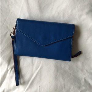MZ Wallace Handbags - MZ Wallace Italian Leather Christoff Wristlet