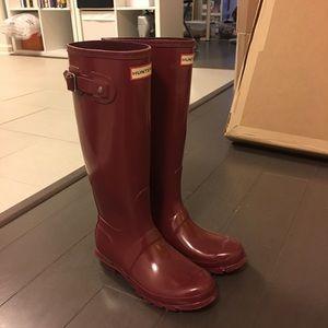 Hunter Boots Shoes - Hunters rain boots