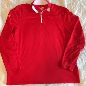 Puma Other - Men's Puma Moisture Wicking Red Athletic Pullover