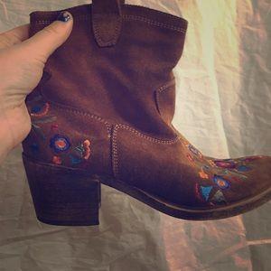 Aldo Shoes - Aldo flower booties
