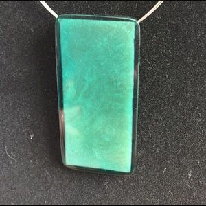 Jewelry - Green pendant choker