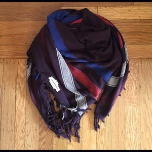 Isabel Marant pour H&M Accessories - Square scarf with fringe