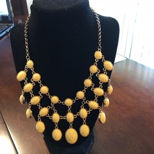 Iman Jewelry - Iman Reversible Blue & Yellow Necklace