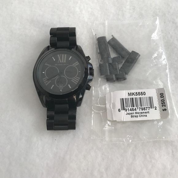 a17f52f69dd4 Michael Kors Bradshaw Black Watch. M 58d7011af739bc1b6208802e