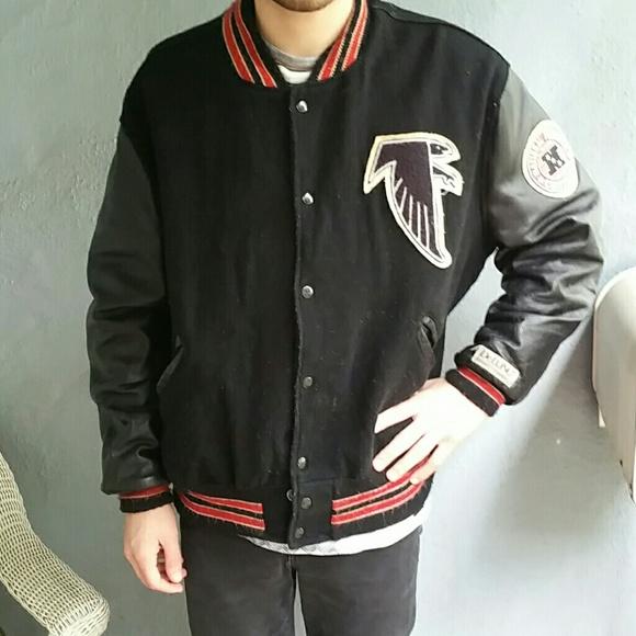 Football Atlanta Vtg Falcons 48 Varsity Jacket