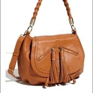 Melie Bianco Handbags - Convertible hobo bag with tassels