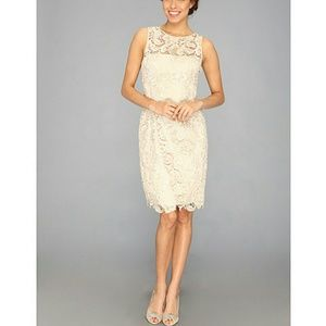 Adrianna Papell Lace Sheath Dress