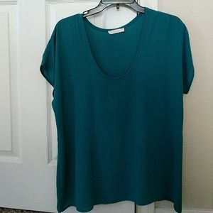 Teal blouse - Lush from Nordstrom