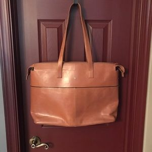 Bosca Handbags - Bosca Italian Old Leather Laptop Tote Briefcase