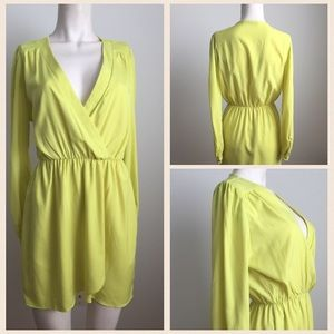 Honey Punch Dresses & Skirts - Neon Green Honey Punch Dress