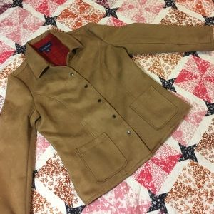 Evan Picone Jackets & Blazers - Evan-Picone  Tan Jacket x Walking Coat