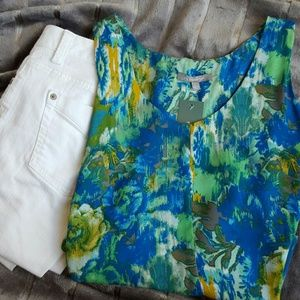 NY Collection Tops - NY Collection sleeveless blouse NWT