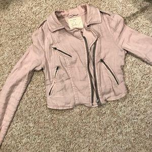 Free People Jackets & Blazers - Free people short zip up jacket size 2