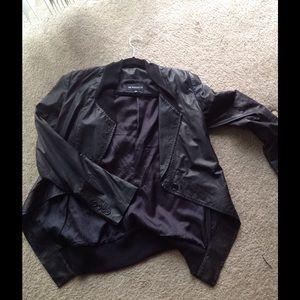 Ann Demeulemeester Jackets & Blazers - Ann Demeulemeester 100% leather tuxedo jacket