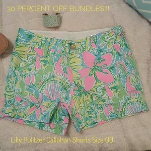 Lilly Pulitzer Pants - Lilly Pulitzer Callahan Shorts in Coconut Jungle
