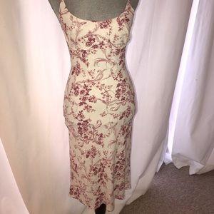 David Cardona Couture Garden Dress with Tie Back