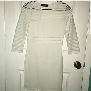 lulus Dresses & Skirts - Lulus white long sleeve dress size medium