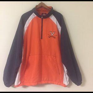 NCAA Other - university of Virginia 1/4 zip pullover