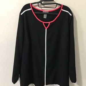 Catherines Tops - Catherine's long sleeve silky athletic top
