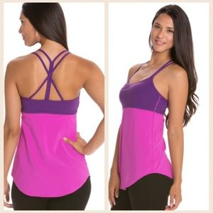 Lucy Tops - Lucy Purple & Pink Workout top